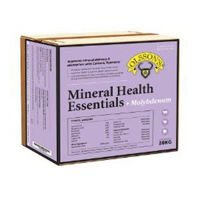 Olssons Mineral Health Essentials Plus Molybdenum Livestock Supplement 20kg