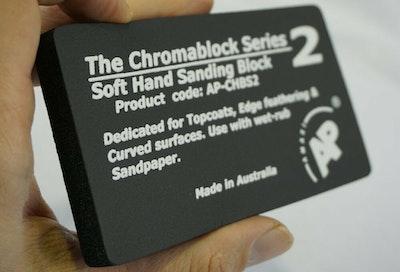 Rubbing Block Cromablock Soft Black