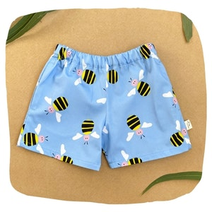 Blue Bee Shorts
