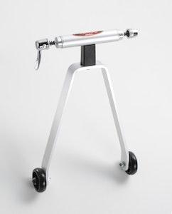 Minoura Rear End Support W/Caster Wheels