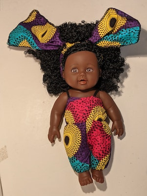 Designed by Florence Tabitha Eno Doll
