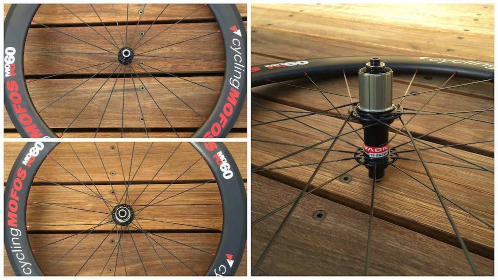 MoFo Cycling Wheelset BikeExchange Freebody hub