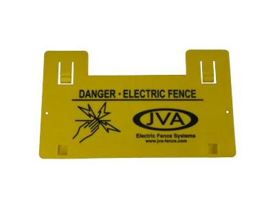 JVA Warning Sign