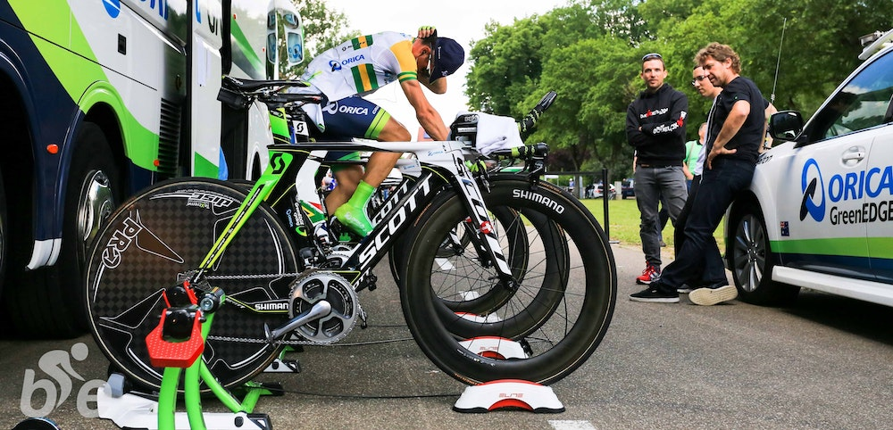 Scott BikeExchange Orica GreenEDGE Team up 2014