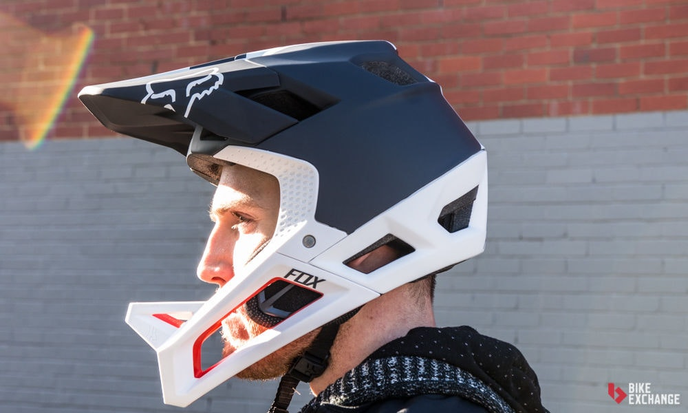 choosing bike helmets what to know face full