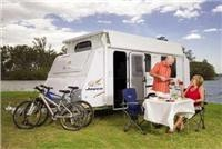 Jayco adds personal decor options to family friendly 2011 Discovery pop-top caravan