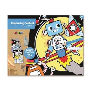 Avenir - Velvet Giant Poster - Space and Robots