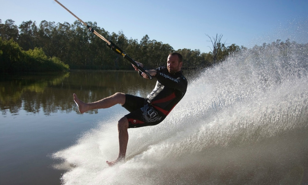 Waterskiing Before Walking
