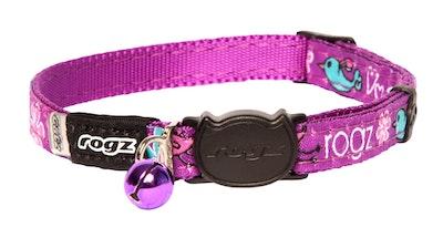 Rogz Fancycat Safeloc Collar Lovebirds 11mm