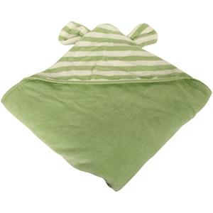 Silly Billyz Organic Sage Animal Hooded Towel