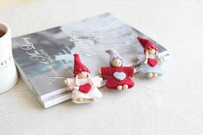 Christmas Fairy Hair Clip (Handmade in Korea)