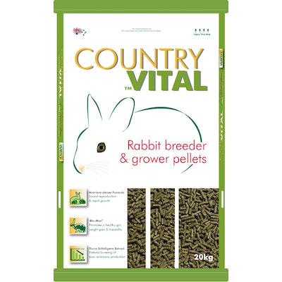 Hygain Country Vital Rabbit Breeder & Grower Pellets 20kg