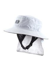 Mens Indo Stiff Peak Surf Hat - White Mens Indo Stiff Peak Surf Hat - White