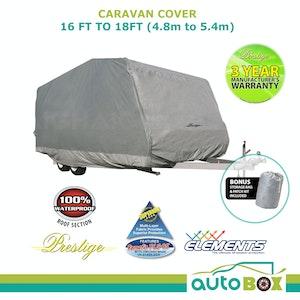 Prestige Waterproof Caravan Cover 4.8m to 5.4m 16ft to 18ft Waterproof UV