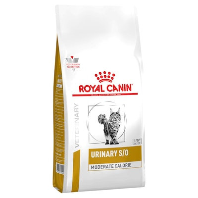 Royal Canin VET Urinary Moderate Calorie Dry Cat Food 1.5kg
