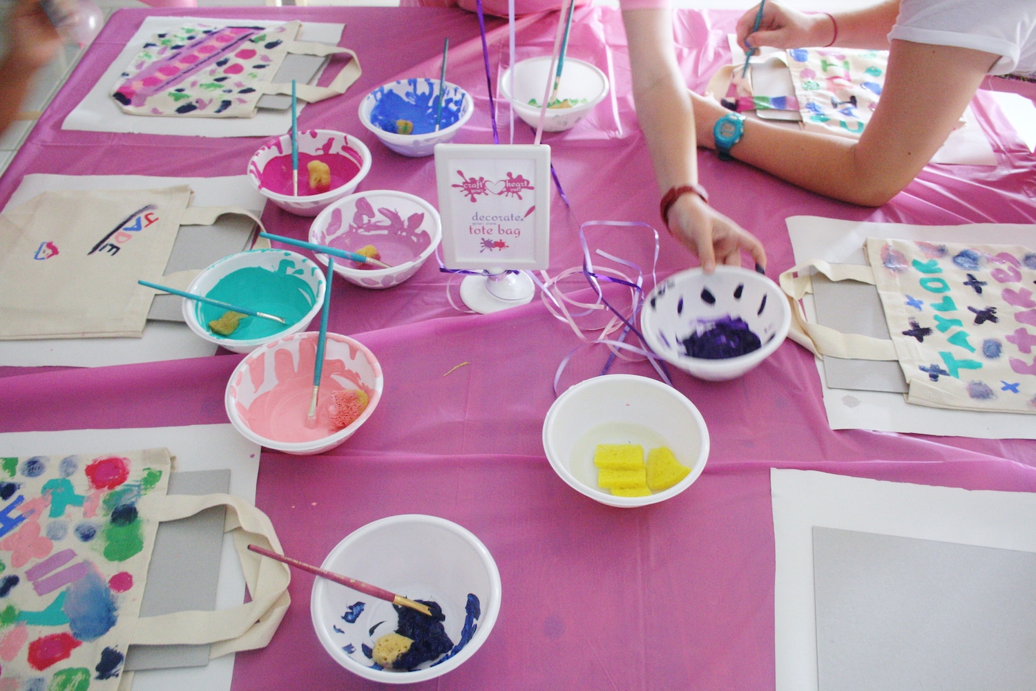 Arts and Craft Party