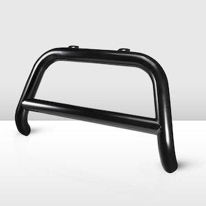 Matt Black Steel Nudge Bar Grille Bumper Guard For Nissan Navara 2015-2020 NP300