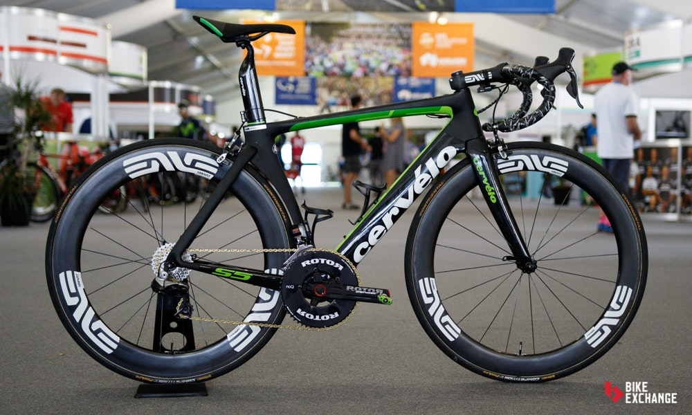 bikes of the 2017 worldtour dimension data cervelo s5