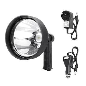 LIGHTFOX LIGHTFOX 15W CREE T6 Handheld Spot Light Rechargeable LED Spotlight Hunting Shooting 12V