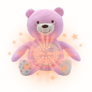 Chicco BABY BEAR SOFT TOY PINK