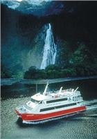 Milford Sound cruising. Courtesy Destination Fiordland