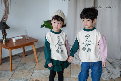 Cherry Sweater (2-8yrs old)