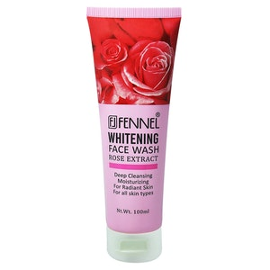 Fennel Whitening Face Wash Rose Extract 100ml