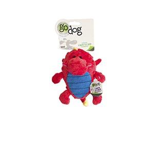 Quaker Dog Toys Quaker Go Dog Toys - Grunter - Red - Small
