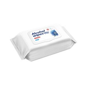Tender Kiss Alcohol Tissue Wipe 50 pc per bag