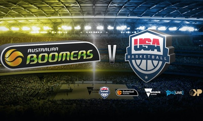 Witness Greatness at Australian Boomers v USA Basketball