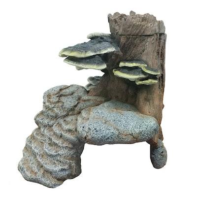 URS Fungi Cave Reptile Accessory Large 25 x 26 x 25cm