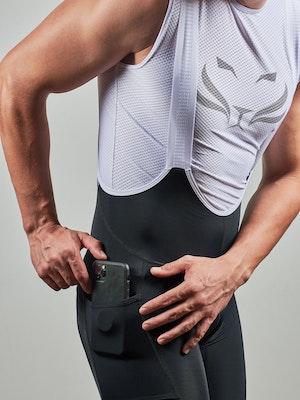 Taba Fashion Sportswear Pantaloneta Ciclismo Hombre INDOOR Negra