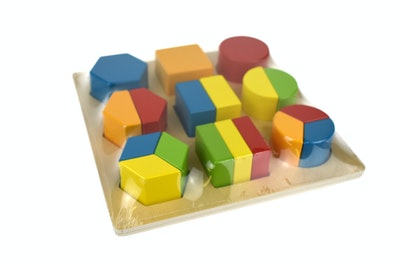 Tooky Toy BLOCK PUZZLE - SHAPES