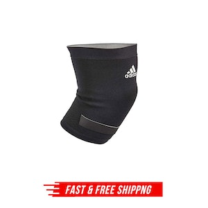 Adidas Performance Knee Support Wrap Brace Guard Joint Sports Sleeve XL - Black