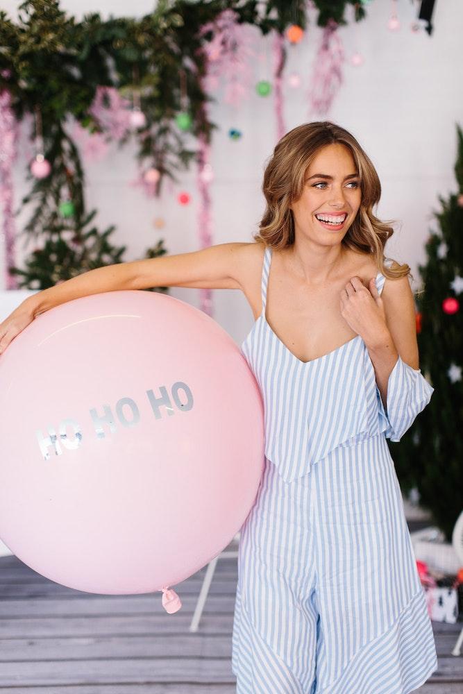 LENZO Christmas Belle Balloons