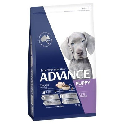 Advance Dry Dog Food Puppy Large Breed 15kg