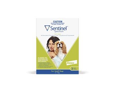 Sentinel Spectrum Dog Small 4-11kg Green