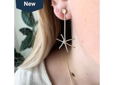Star Burst Earring