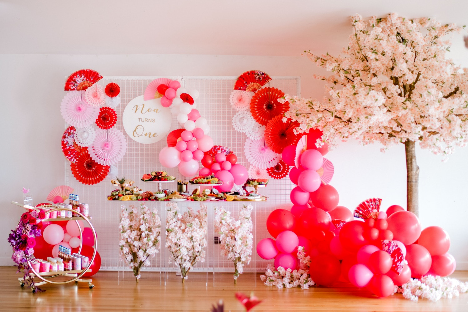 SUSHI & SAKURA: NOA'S JAPAN-INSPIRED 1ST BIRTHDAY