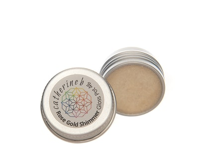 Catherine B Rose Gold Shimmer Gloss Pot