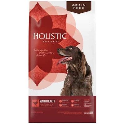 HOLISTIC SELECT Senior Health Chicken & Lentil Dry Dog Food