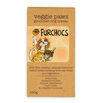 Veggie Paws Furchocs 150G