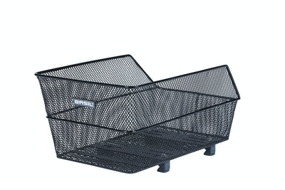 Basil Cento Rear Basket Wsl Black