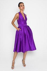 Mossman Head Over Heels Dress - purple