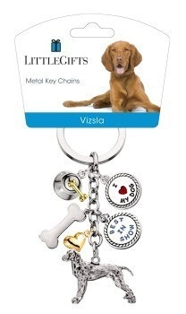 Little Gifts Keyrings - Vizsla