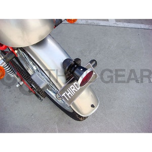 Replica 12V Lucas 477 Rear Light with Bracket