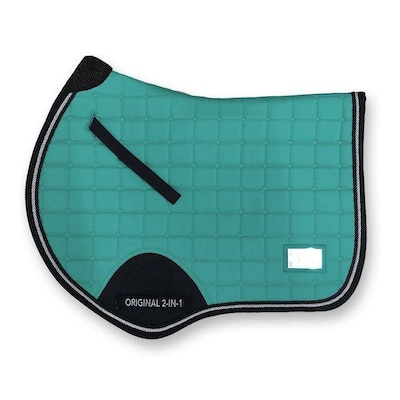 2 in 1 Saddle Pad Jump Cut by Iconic Equestrian