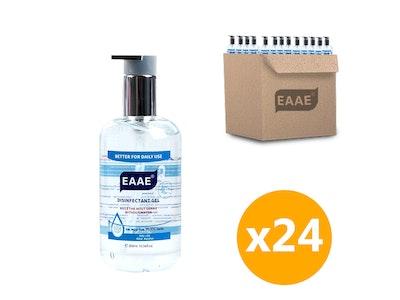WH Safe Bulk EAAE 75% Alcohol Hand Sanitiser Gel Kills 99.99% Germ (300mL) - 24 Units