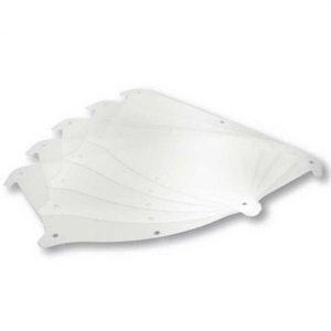 SATA Air Vision 5000 Visor Clear Foil