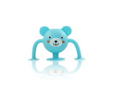Silicone Suction Baby Bath Toys 1pk - Bobby Bear - Zoo Collection